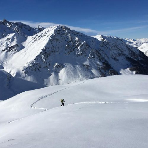 Ski rando Hautacam